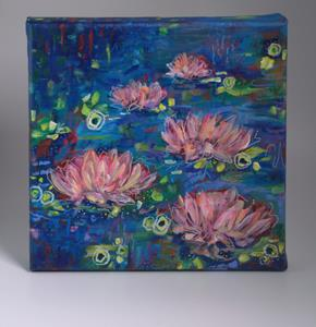 Detail Image for art Fair Maidens - Water Lilies series