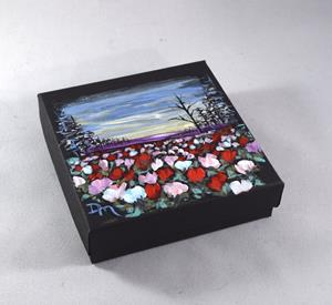 Detail Image for art Painted Jewelry Gift Box