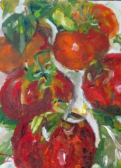 Art: Vine Tomato's by Artist Delilah Smith
