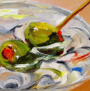 Detail Image for art Martini Two Olives