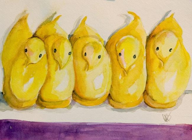 Art: The Usual Suspects by Artist Delilah Smith