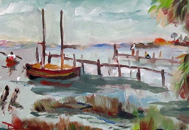 Art: Florida Coast by Artist Delilah Smith