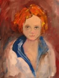 Art: Sally by Artist Delilah Smith