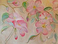Art: Spring Blossoms No. 2-sold by Artist Delilah Smith