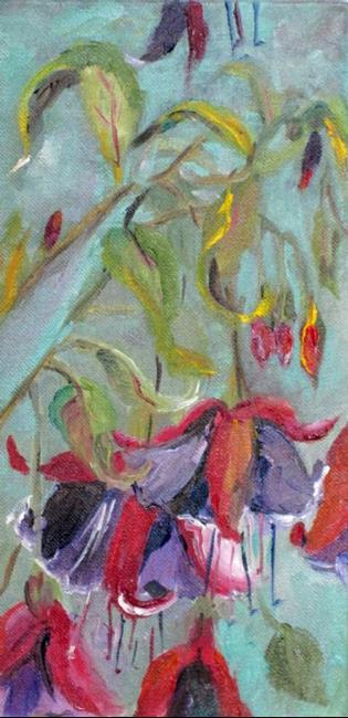Art: Fuchsia by Artist Delilah Smith