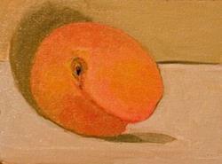 Art: Peach by Artist Delilah Smith