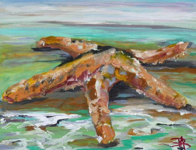 Art: Starfish by Artist Delilah Smith