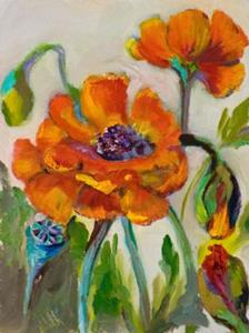 Detail Image for art Small Poppies