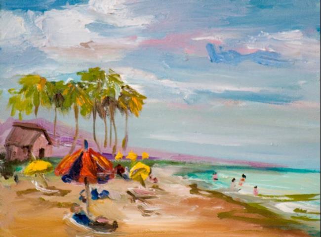 Art: Florida Beach by Artist Delilah Smith