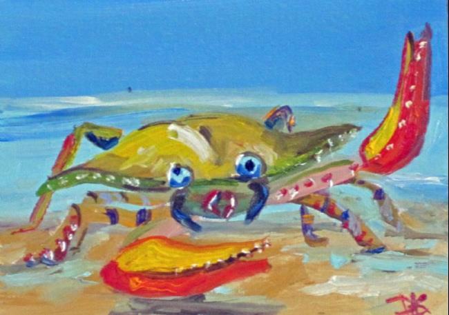 Art: Crabby Billie No.2 by Artist Delilah Smith