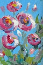 Art: Garden of Flowers by Artist Delilah Smith