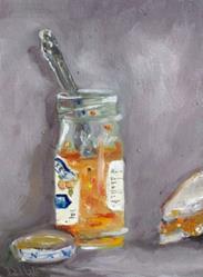 Art: Orange Marmalade by Artist Delilah Smith