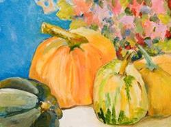 Art: Fall Harvest by Artist Delilah Smith