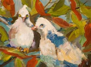 Detail Image for art Two Turtle Doves
