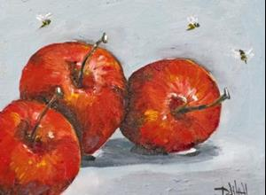 Detail Image for art Apples with Bees