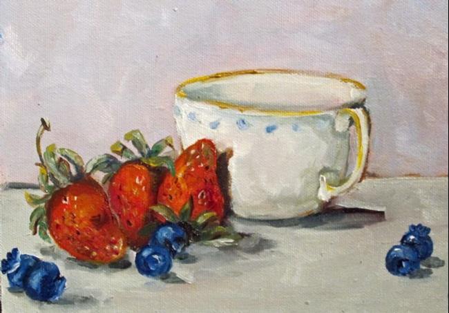 Art: Breakfast by Artist Delilah Smith