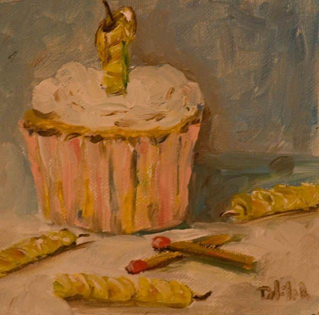 Art: Birthday-sold by Artist Delilah Smith