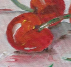 Detail Image for art Five Cherries