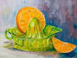 Art: Fresh Squeezed by Artist Delilah Smith