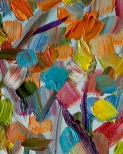 Detail Image for art Confetti Trees II