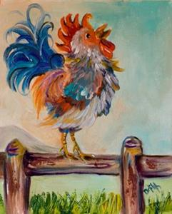 Detail Image for art Rooster 2