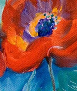 Detail Image for art Wow poppies No 3
