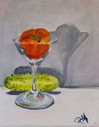 Art: Tomatoe Martini by Artist Delilah Smith