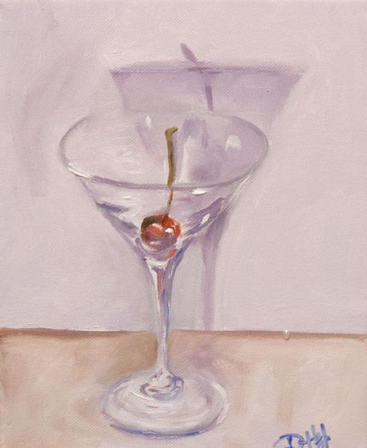 Art: Cherry Martini-sold by Artist Delilah Smith