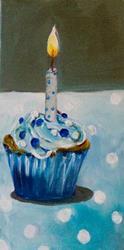 Art: Poka-Dot Birthday by Artist Delilah Smith