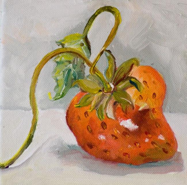 Art: Strawberry No.2 by Artist Delilah Smith