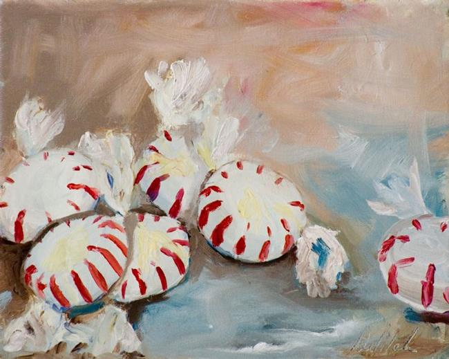 Art: Christmas Mints by Artist Delilah Smith