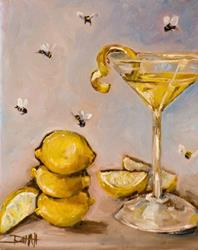 Art: When Life Gives You Lemons by Artist Delilah Smith