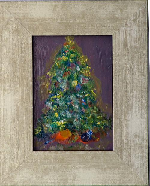 Art: Christmas Tree by Artist Delilah Smith