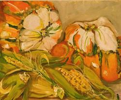 Art: Fall Harvest no.2 by Artist Delilah Smith