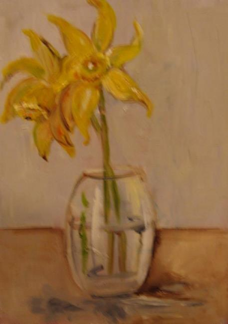 Art: Daffodils by Artist Delilah Smith