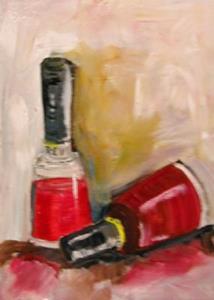 Detail Image for art Red Nail Polish