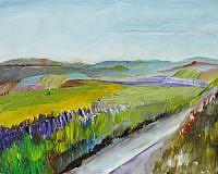 Art: Country Roads by Artist Delilah Smith