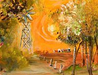 Art: Hot Day-sold by Artist Delilah Smith