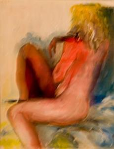 Detail Image for art Red Nude