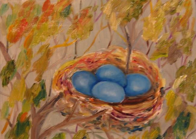 Art: The Nest by Artist Delilah Smith