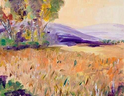 Art: The Cornfield by Artist Delilah Smith