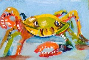 Detail Image for art Crabby Billies Aceo