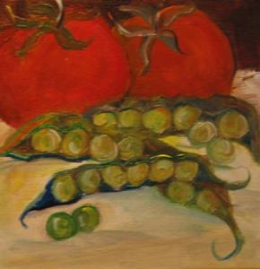 Detail Image for art Tomatoes and Peas