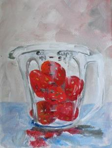 Detail Image for art Two Cups of Berries