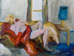 Detail Image for art Nude with Red Cover