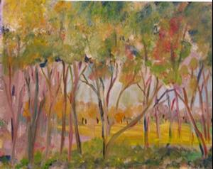 Detail Image for art Spring Trees
