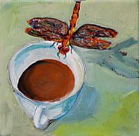 Art: Coffee Klutch-sold by Artist Delilah Smith