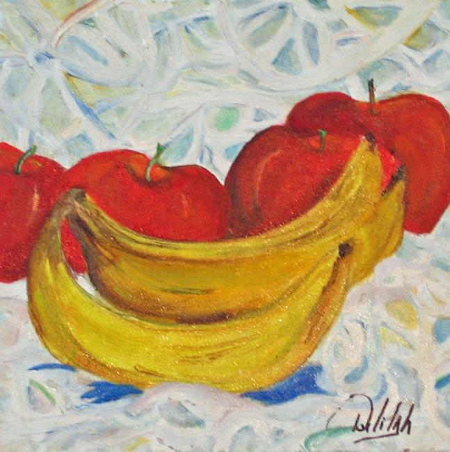 Art: Bananas and Lace-sold by Artist Delilah Smith