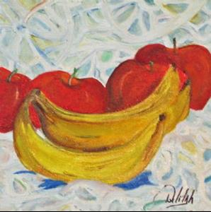 Detail Image for art Bananas and Lace