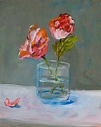 Art: Rose Petal by Artist Delilah Smith